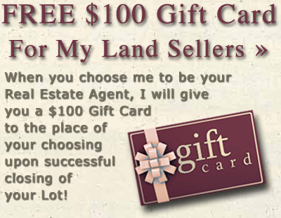 Free Gift Card for Land Sellers