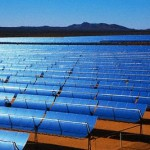 Rows of Solar Power Panels
