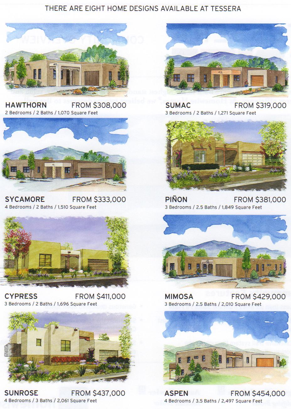 tessera model homes new