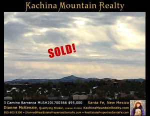 3 Camino Barranca Lot SOLD