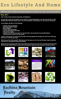 Eco Lifestyle and Home Newsletter
