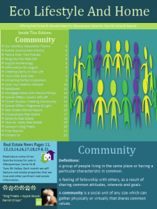 Eco Lifestyle And Home August Newsletter – Community